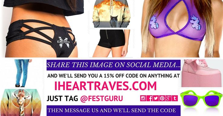 iHeart Raves prides itself on being the main supplier of apparel and accessories for festivals, with clothes that stand out and make a statement.