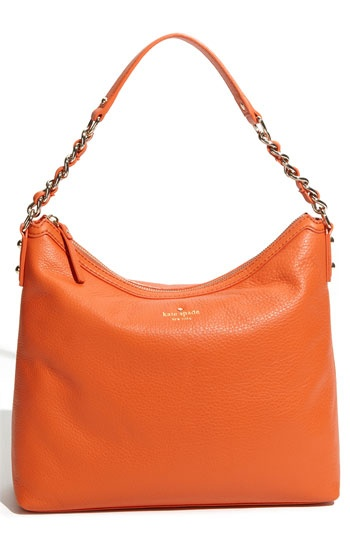 I have only been looking for an orange purse for a year and Chris just surprised me with this cutie:)
