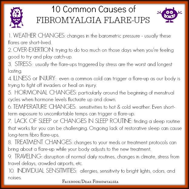 10 Common Causes of Fibromyalgia Flare-Ups