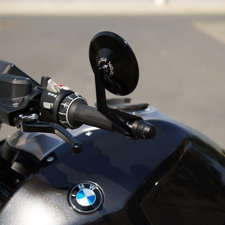 BMW R 1200 R Zubehör - Lenkerendenspiegel und Lenkerendenblinker