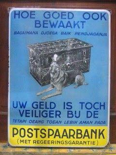 Postspaarbank Nederland - Indie,  didirikan tahun 1898. Sebelum Perang Dunia II, di Indonesia (pada waktu itu Nederland Indie) menjadi Bank Tabungan Negara pada tahun 1968.