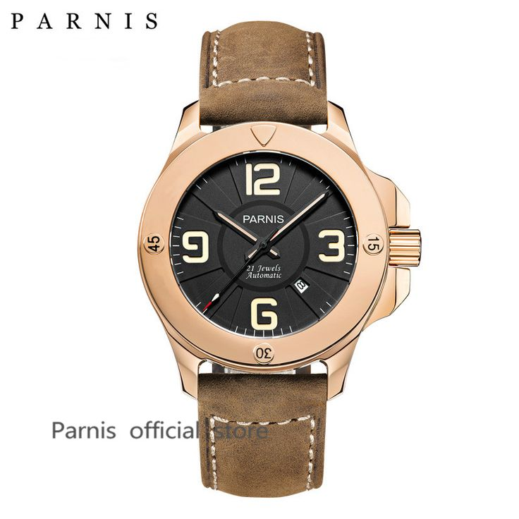 Like and Share if you want this  Fashion Stlye Men's Watch Automatic Watch Parnis 47mm Sapphire Luminous Leather Army Military Men Watch Mechanical Wristwatch     Tag a friend who would love this!     FREE Shipping Worldwide     Get it here ---> https://shoppingafter.com/products/fashion-stlye-mens-watch-automatic-watch-parnis-47mm-sapphire-luminous-leather-army-military-men-watch-mechanical-wristwatch/