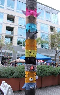 Happy International Yarn Bombing Day