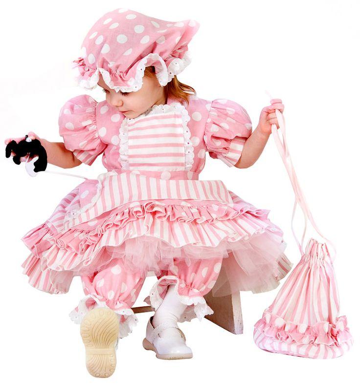 Little Miss Muffet Girls Costume - Kids Costumes