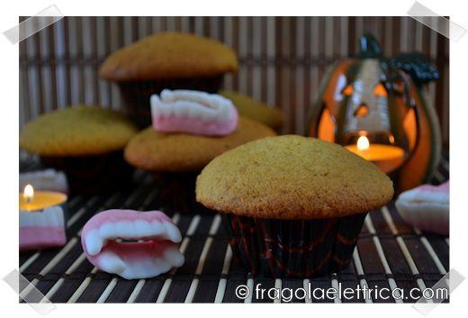 MUFFIN ALLA ZUCCA fragolaelettrica.com Le ricette di Ennio Zaccariello #Ricetta #Halloween