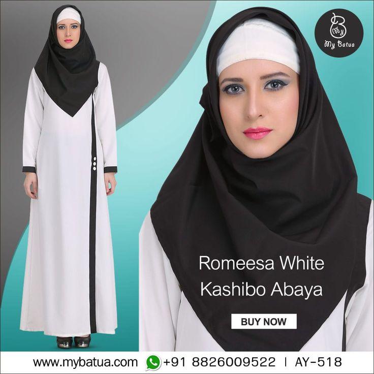 Silhouette crafted to flatter the world. Romeesa White Kashibo Abaya is a graceful formal wear. Check here: https://www.mybatua.com/womens/abaya/romeesa-white-kashibo-abaya #abayafashion #abaya #fashion #muslimwear #style #clothing #picofday #summercollection #mybinsta #sisterhood #modestfashion #womenclothing #ootd #yaz #islamicclothing #womendress