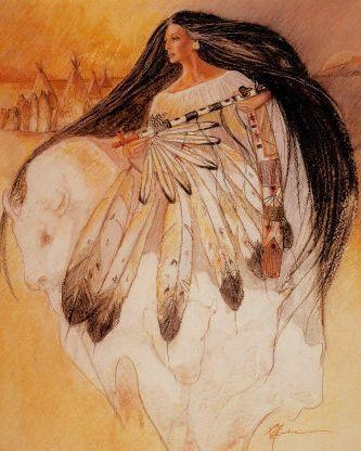 Shaman Woman   Caboclo Sete Encruzilhadas