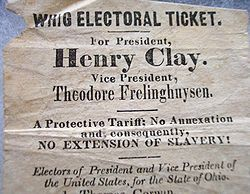 Whig Party (United States) - Wikipedia, the free encyclopedia