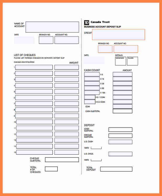 Deposit Slips Template Templates Paper Flower Printable Templates Templates Printable Free