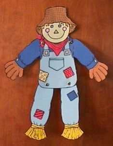 movable scarecrow craft