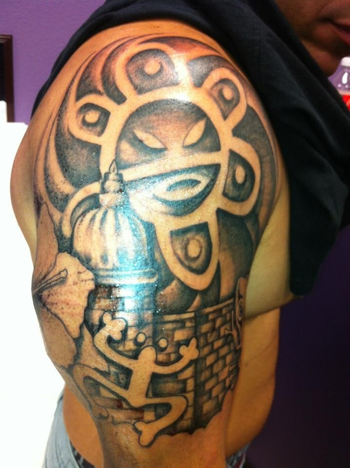 ethnic puerto rican pictures of puerto rican flag puerto rican tattoos ...