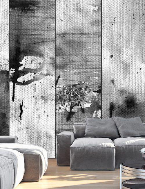 Best 208 carta da parati con arte astratta moderna images for Carta parati grigia