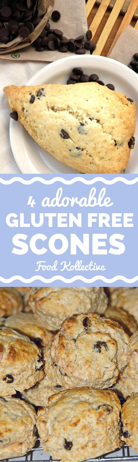 I was on the hunt for gluten free scones and these look incredible! There are recipes for gluten free strawberry scones, gluten free maple scones, and vegan scones. These are great breakfast recipes and brunch recipes. Perfect for a party or for kids! Collected on FoodKollective.com
