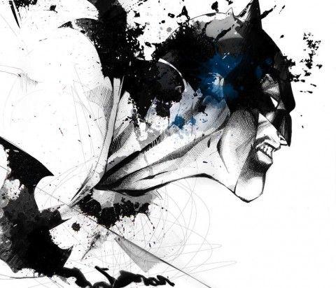 Illustration - David Despau - The Mushroom Company - Batman