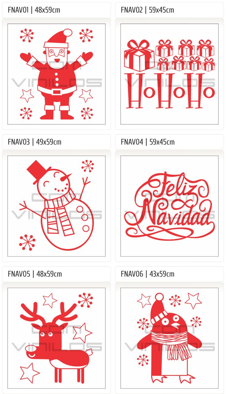 Vinilo Autoadhesivo Feliz Navidad 2013 Año Nuevo 2014, Carteles, Vidrieras, Ploteos