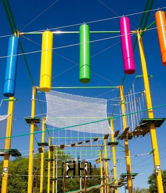 Parc Exalto: The First Urban Acrobatic Park in North America --- #Montreal