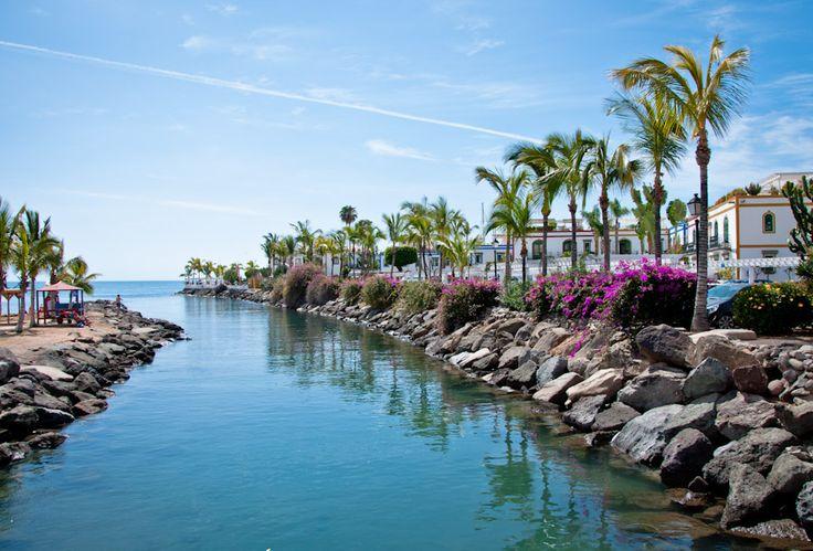17 best images about gran canaria marinas on pinterest palmas boats and islands - Puerto mogan gran canaria ...