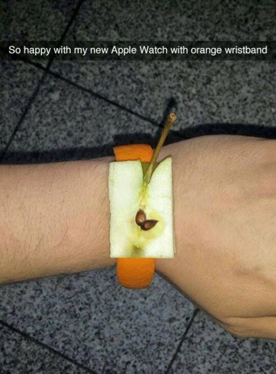 Funny apple watch snapchat - http://jokideo.com/funny-apple-watch-snapchat/