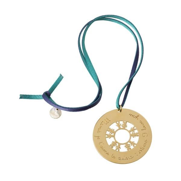 Collar cordón goma muñequitos.  #Regalos #personalizados #joyas #grabadas. #Gift
