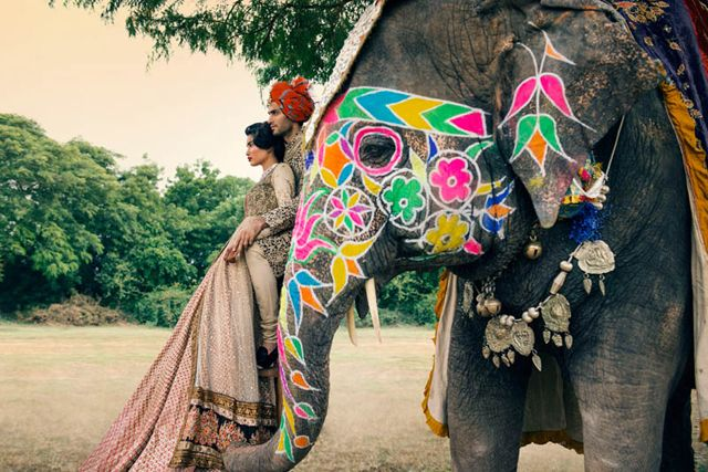 An Indian Wedding / Vogue India