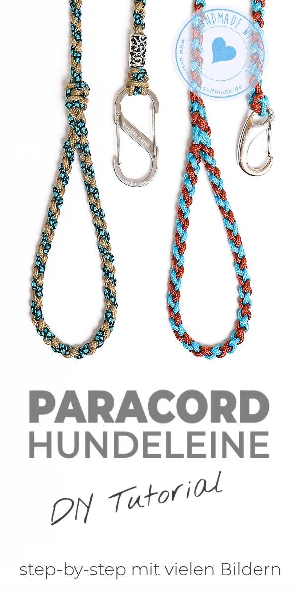 DIY Anleitung Paracord Hundeleine