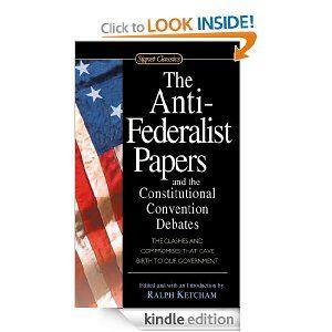 anti federalists essays
