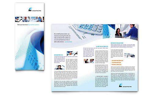 Contoh Pamflet Brosur Firma Akuntansi