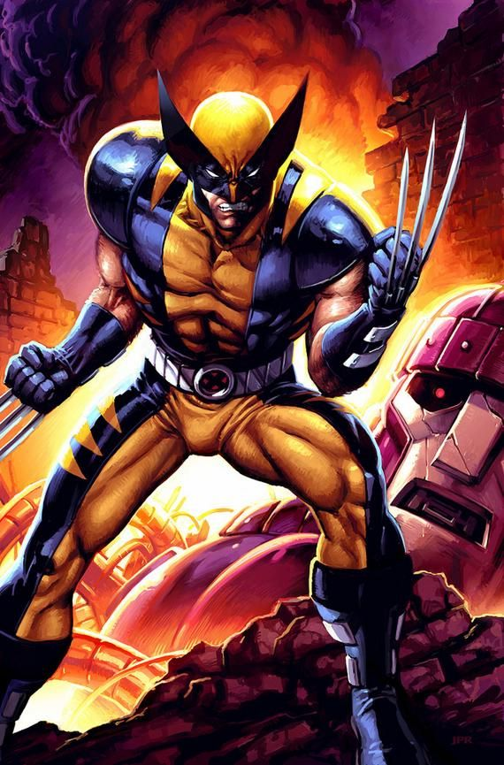 wolverine comic art | The Wolverine