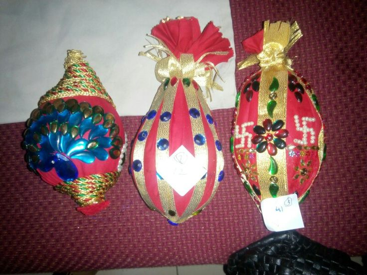 prize winning decorated nariyals