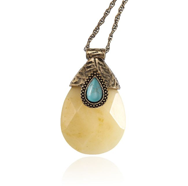 SAMANTHA WILLS - SOUND OF NATURE NECKLACE - TURQUOISE