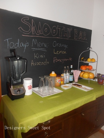 31 Days Of Cleansing Day 14 Smoothie Bar Designers Sweet Spot