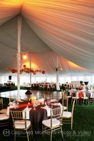 A tent needs lighting to spruce it up. Create this neat effect with our Tent Pole Par Lighting!