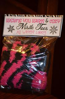 Touchet Soiree: Teacher Christmas Gifts Love it, put in there some socks, nail polish and maybe some foot scrub