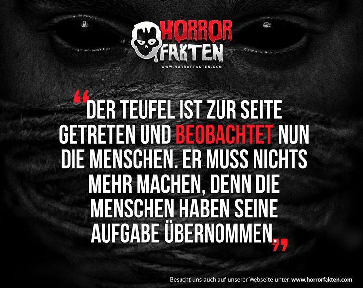 Traurig aber wahr  #horrorfakten