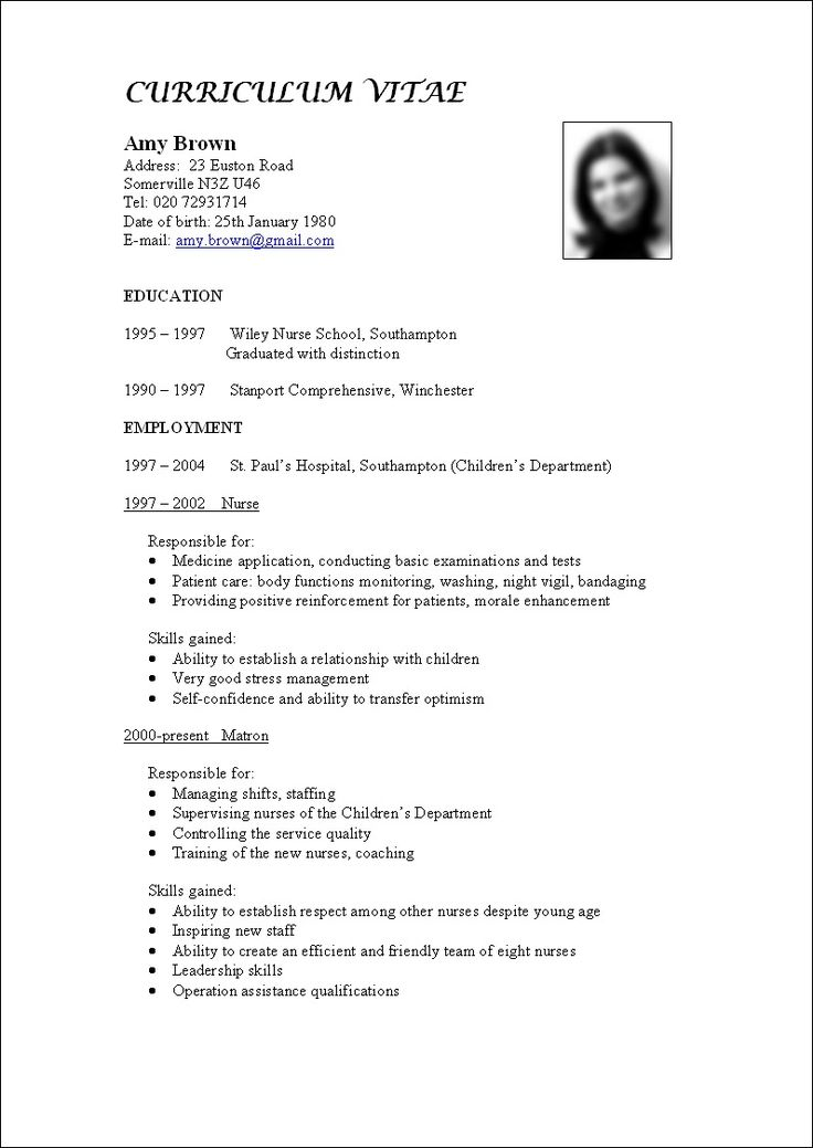 17 best images about how to write a cv on pinterest