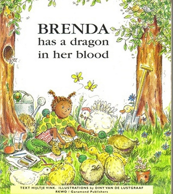 """This true story of a little girl from Africa, written by her adoptive mother Hijltje Vink, deals with the day to day social and emotional challenges of a child and family living with HIV. Through Brenda's story, children learn they are not alone living with HIV/Aids. The book addresses the stigma of living with HIV and the importance of the ARV medication regime to """"keep the dragon sleeping"""" and remain healthy. #activism #ChildrensBookWeek"""