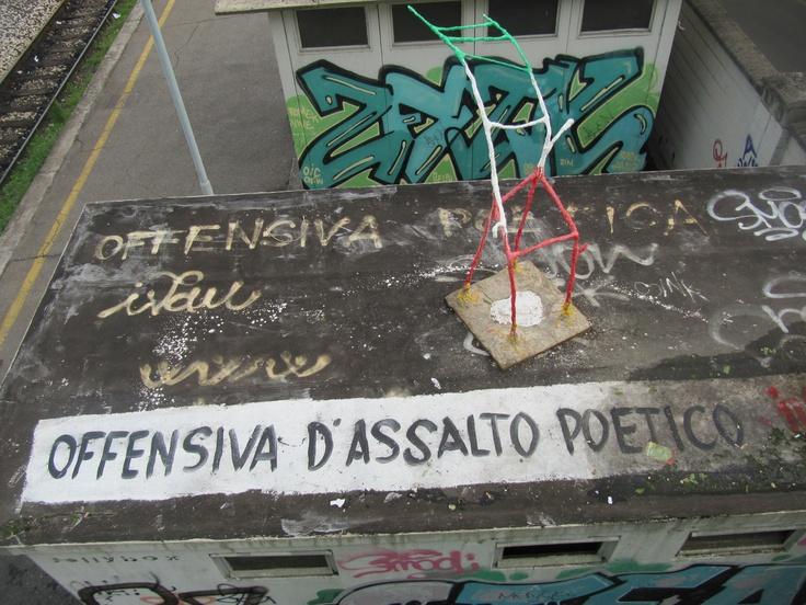 Milan 04_26_12 #poetry #milano #italy #bridge #metro