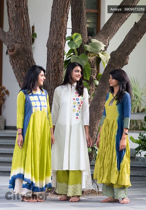 Wonderful #IndoWestern outfits collections at #AMEYA Store.. #Fashion #Clothings #Garments #Dresses #kurtis #Tops #LooseGowns #PrettyPants #Outfits #IndoWestern #Kurtas #CityshorAhmedabad