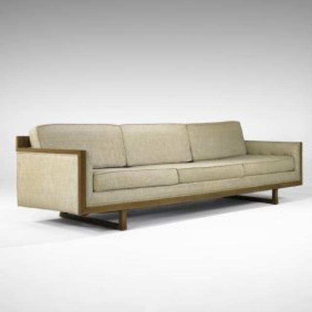 Sofa, T.H. Robsjohn-Gibbings, Widdicomb, 1950's