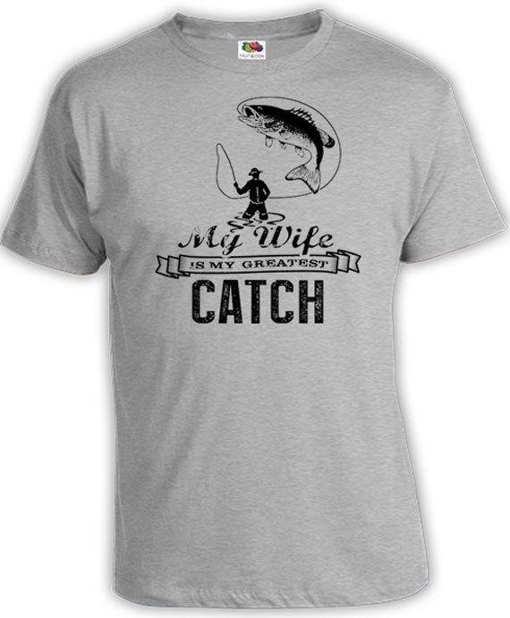 910b31235741 Funny Fishing Shirt Husband Gifts For Fishermen Fishing T Shirt For Him  Outdoorsman Gift My Wife Is