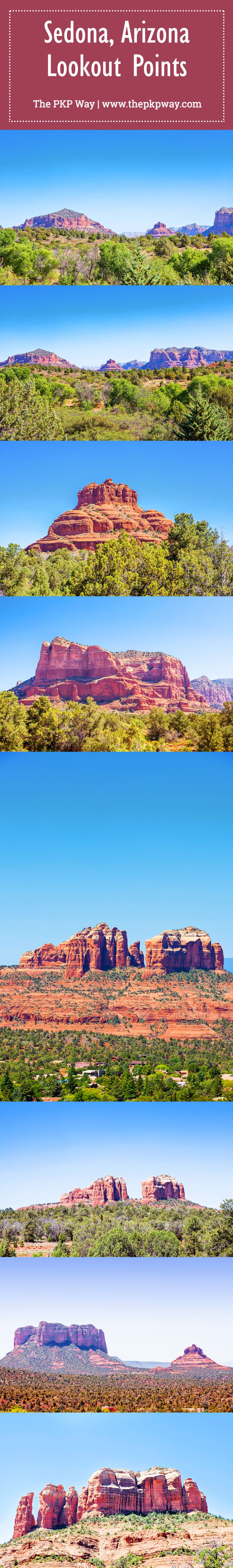 A day of Hiking in Sedona, Arizona - where to stop and which trails to hike