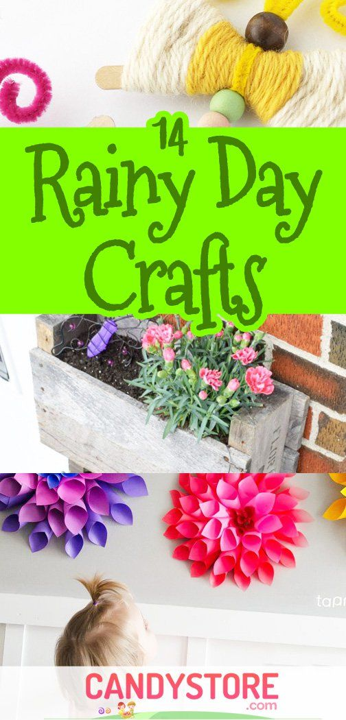 Rainy Day Crafts fro April Showers