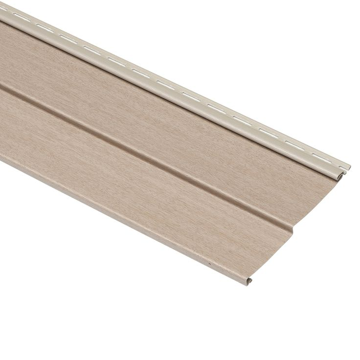 Georgia-Pacific Compass Northern Oak Double 4 Traditional Vinyl Siding Sample