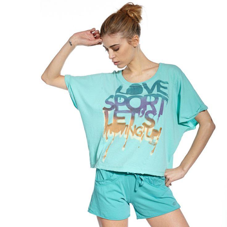 T-shirt loose Fanny #dance #meeting #fitness #femme #sportwear #bodyjam
