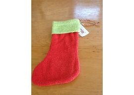 Vintage Chenille Christmas Stocking