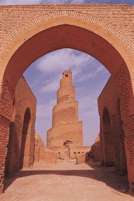 Samarra Archaeological City is the site of a powerful Islamic capital city that ruled over the provinces of the Abbasid Empire extending from Tunisia to Central Asia for a century.
