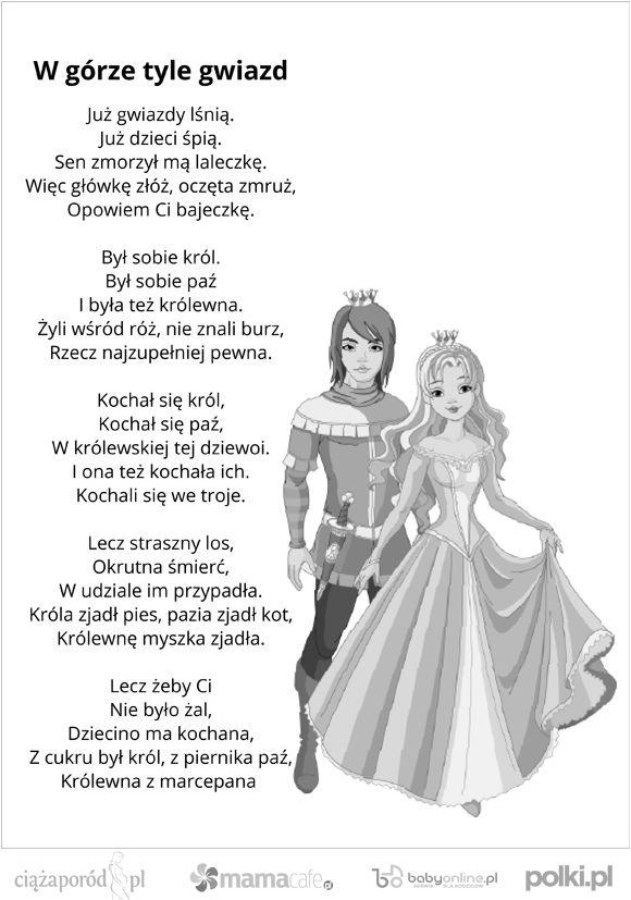 kołysanki dla dzieci, tekst kołysanki: Wierszyki Dla, Tekst Kołysanki, For Children, Ja Babcia, Kołysanki Dla