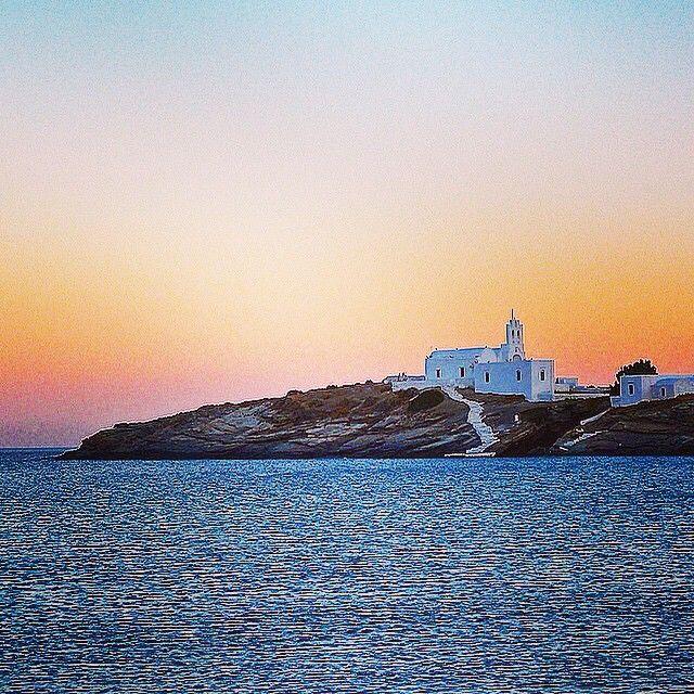 Chrisopigi church, at Sifnos island (Σίφνος) .  Love it