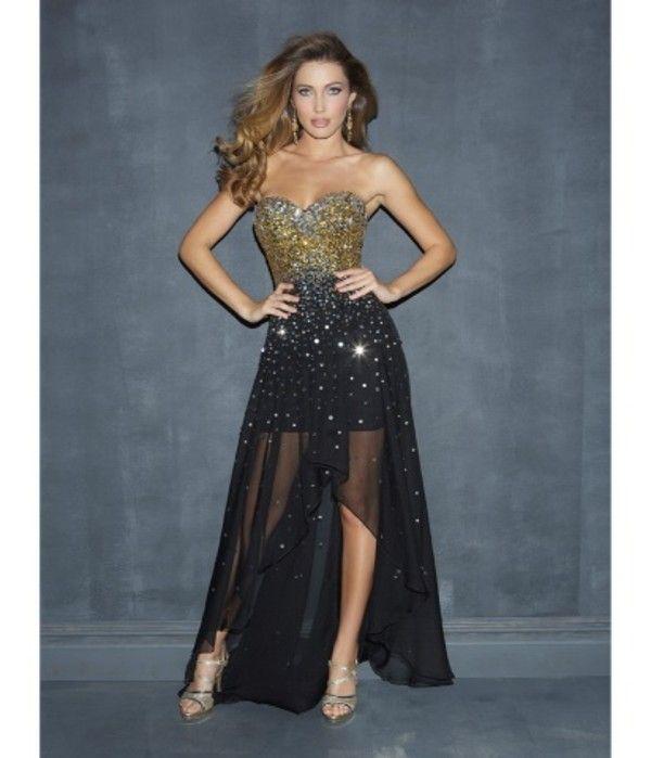 Best 25  Gold Prom Dresses ideas on Pinterest | Military ball ...