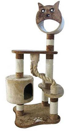 DIY Cat Tower | this unique cat tower will give your cat her own special place there ...